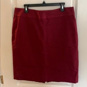 Burgundy Banana Republic skirt size 16 tall